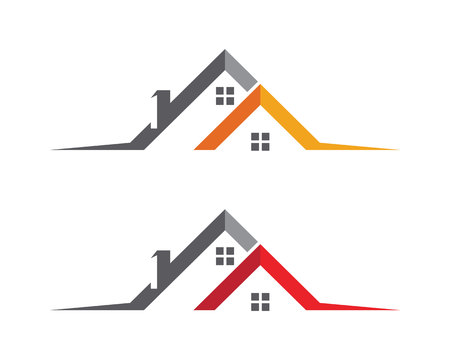 ownership: Property Logo Template Illustration