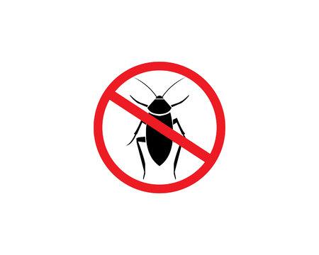 cockroach icon vector illustration Vector Illustration