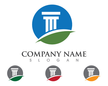 column Logo Template