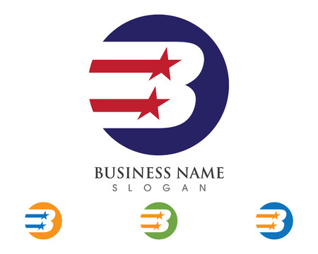 B Letter Logo Business Template Vector icon