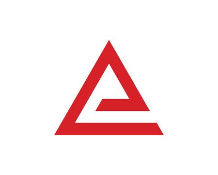 Un logo Business Letter Template Vector icône.