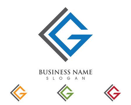 G Letter Logo Stock Illustratie