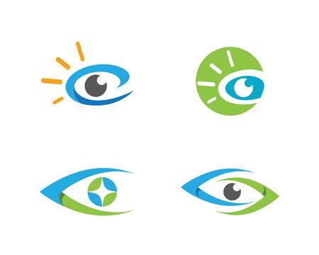 optometrist: Eye care Logo Template