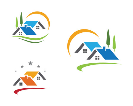 Property Logo Template Illustration