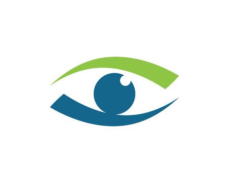 Eye care Logo Template