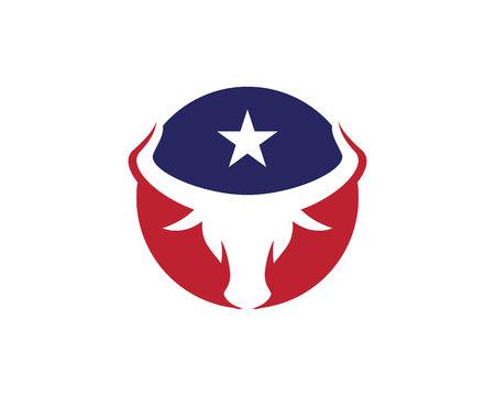 corrida de toros: Plantilla Logo Taurus