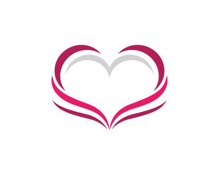 Love logo template