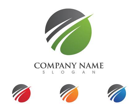 orion: Faster Logo Template vector icon illustration design Illustration