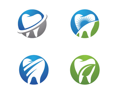 Smile Dental logo Template vector illustration icon design Illustration