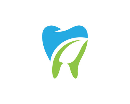 Smile Dental logo Template vector illustration icon design.
