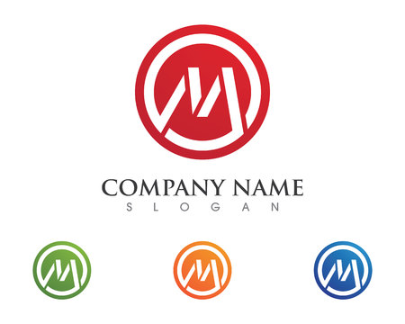 cash money: M Letter Logo