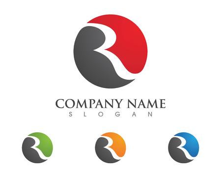 R Letter Logo Stock fotó - 77313930