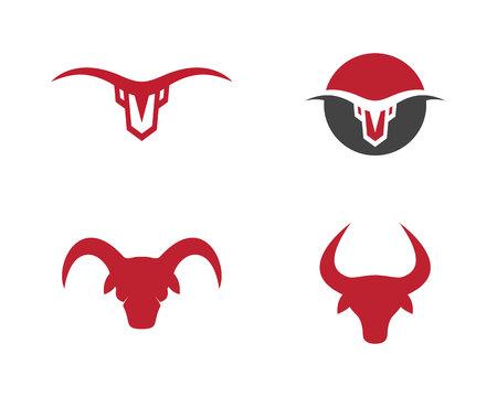 knocking: Taurus Logo Template