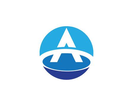 un logo de l & # 39 ; entreprise template vecteur icône