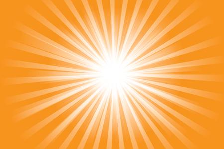 Supernova icon design, rays of light Ilustração
