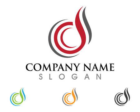 D Letter Logo Business Template Vector icon