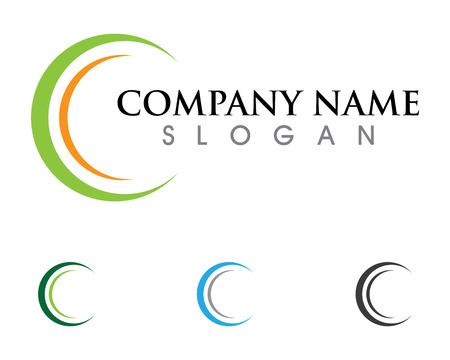 C Lettre Logo Template vecteur icône conception