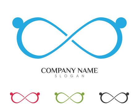 Les soins communautaires Logo Banque d'images - 85325533