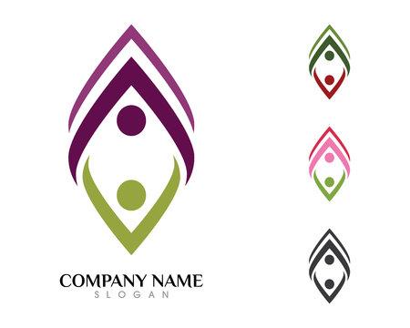 Health Logo Template Stok Fotoğraf - 85325550