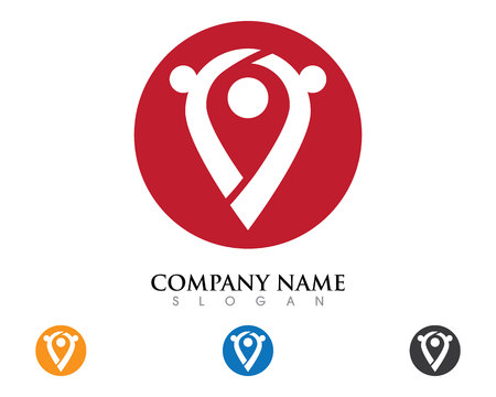 web directories: Location point Logo
