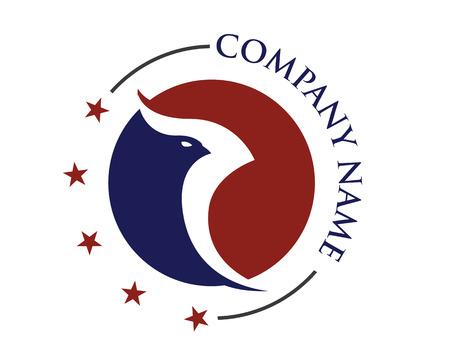 Falcon Logo Template vector illustration. Illustration