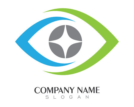 Eye care Logo Template