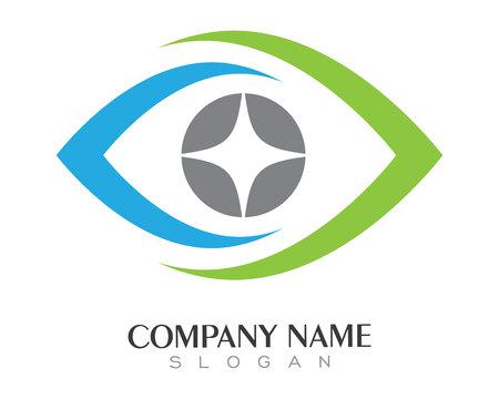 Eye Template zorg Logo