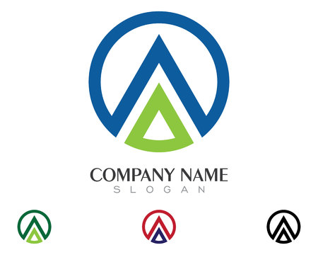direct: A Letter Logo Illustration