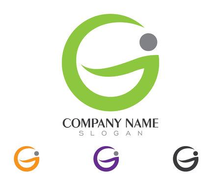 G Letter Logo vector illustration.