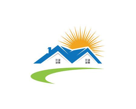 Property Logo Template vector illustration. Illustration