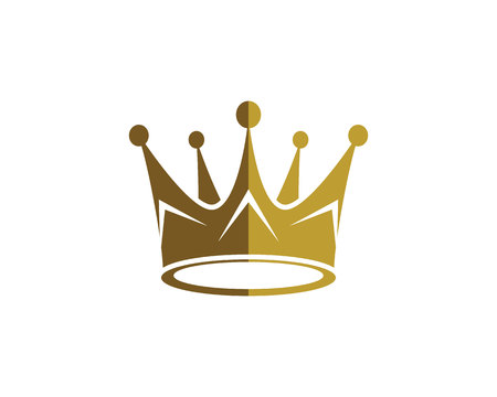 Crown Logo Vorlage Vektor-Illustration Standard-Bild - 82497856