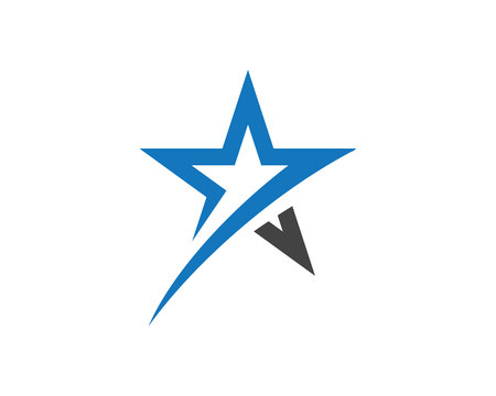 Star Logo Template vector icon illustration design illustration.