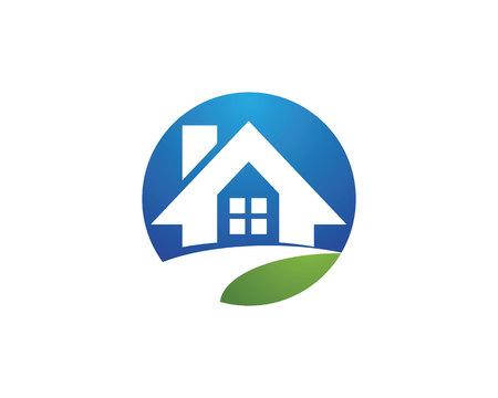 Property Logo Template vector illustration Logo