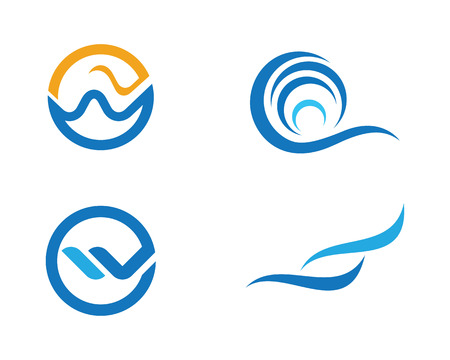 water s: Water Wave Template