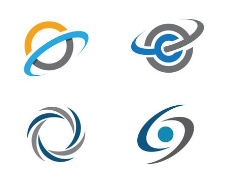 C Letter Template vector icon design