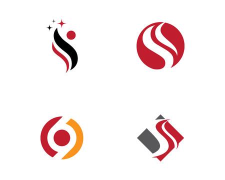 S letter logo Template 向量圖像