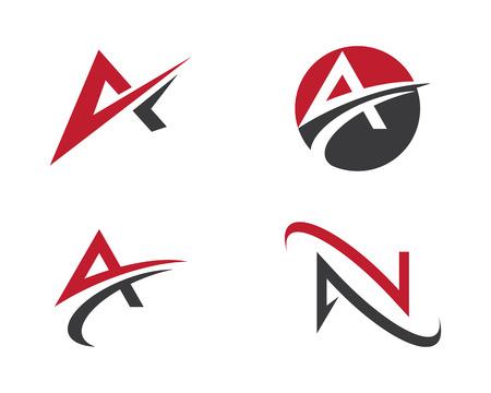 Un logo lettera Archivio Fotografico - 82007900