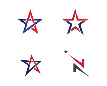 Star Logo Template Stock Illustratie