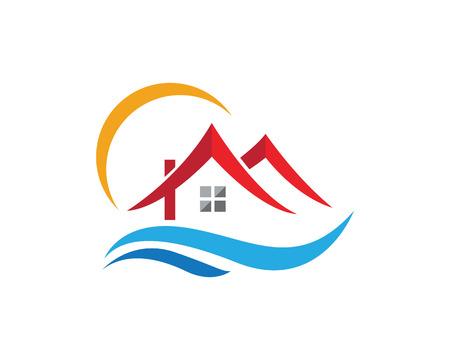 Property Logo Template illustration. Illustration