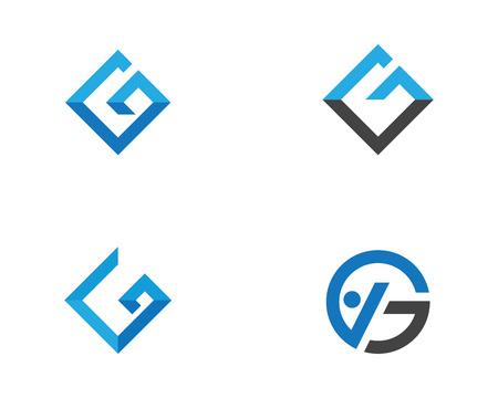 G Letter Logo illustration.