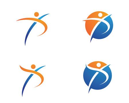 leaf logo: Healthy Life Logo