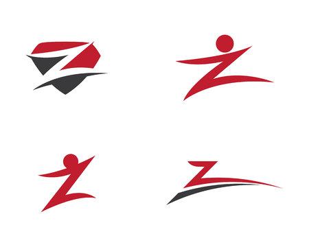 Z Letter Logo. Vector illustration.