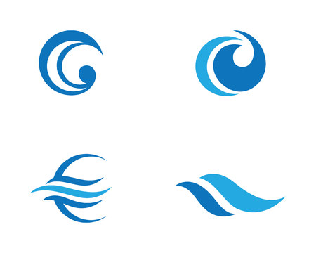 Water Wave icon Templates