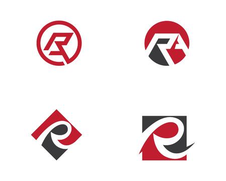 R Letter Logo. Vector illustration.