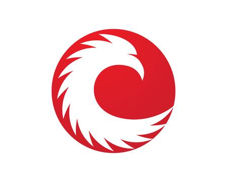 Falcon Logo Template Imagens - 83157791