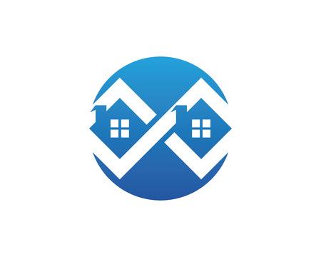Property Logo Template Vector illustration.
