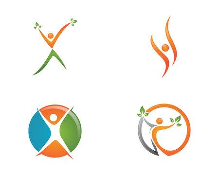 Healthy Life Logo. Vector illustration.