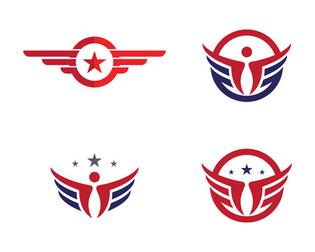 soar: Falcon Logo Template