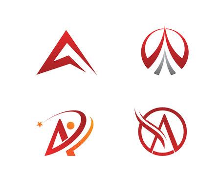 A Letter Logo Illustration