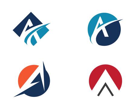 Un logo de lettre Banque d'images - 83666820